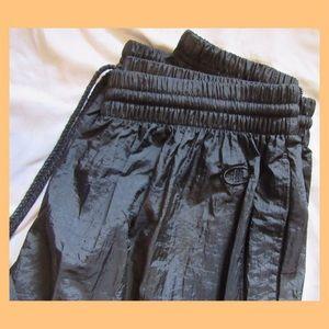 Champion Black Windbreaker Pants! Size XL